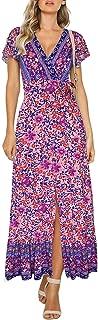 Best bohemian floral dress Reviews