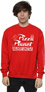 Disney Men's Toy Story Pizza Planet Logo Sweatshirt