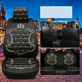JKHOIUH Protector de cinturones de seguridad a prueba de sudor Four Seasons - El mejor protector de asientos de automóvil de cuero antideslizante - Perfecto for el gimnasio, la playa, la carrera y las
