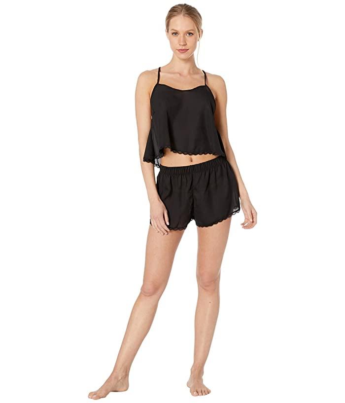 BLUEBELLA Olivia Cami and Shorts Set (Black) Women