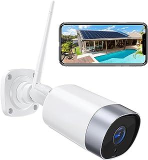 Cámara de Vigilancia WiFi Exterior, 1080P Cámara Vigilancia Domestica WiFi, IP66 a Prueba de Agua y Polvo, Visión Nocturn...