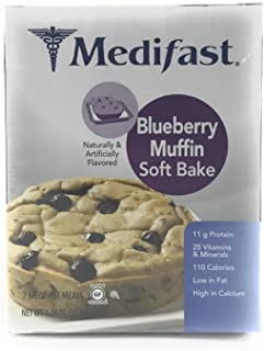 Medifast Blueberry Muffin Soft Bake (1 Box/7 Servings)