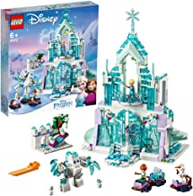 LEGO  l Disney Frozen Elsa's Magical Ice Palace 43172 Building Kit, Princess Toy for 6+ Year Old Boys and Girls, New 2019