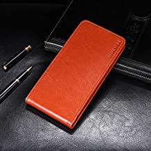 Case for Vernee Thor E, PU Leather Stand Wallet Flip Case Cover for Vernee Thor E,Business Style Phone Protection Shell,The case with Streamlined Design.-YJ18