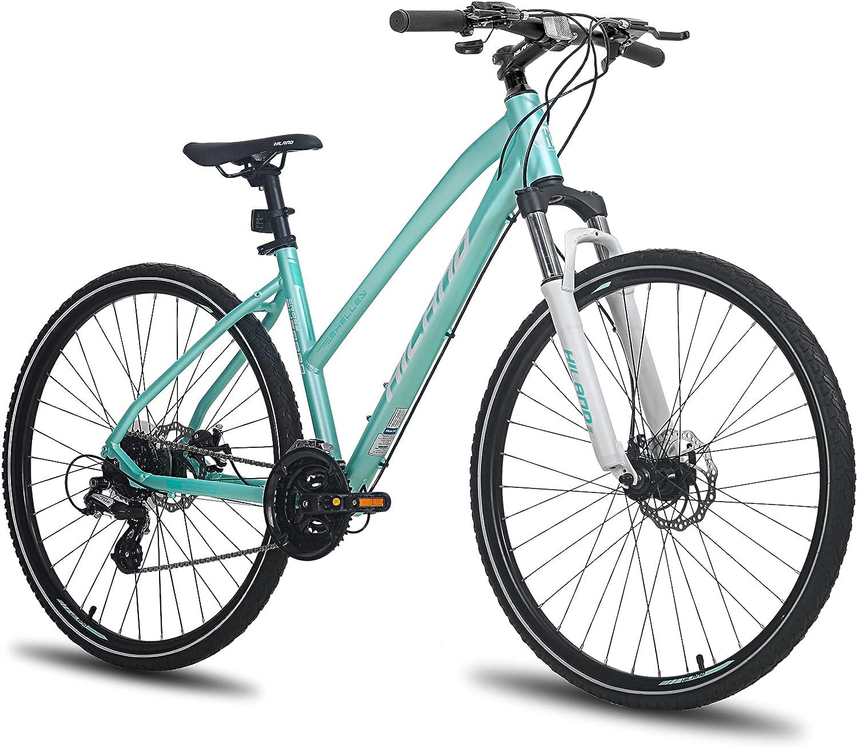HH Hiland 700C Hybrid Comfort Bicycle