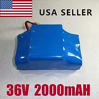 36V 4.4Ah /4400mAh Li-ion Battery 10S2P FR 6.5