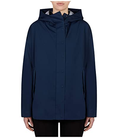 Save the Duck Bark Hooded Jacket (Navy Blue) Women