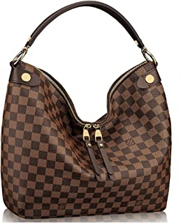 Authentic Louis Vuitton Damier Duomo Hobo Shoulder Handbag Article N41861  Made in France 9ba42af82ca66