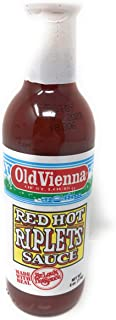 Old Vienna | Red Hot Riplet Sauce | 6 Oz/170 G