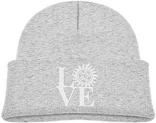 Mens and Womens Love Supernatural Knitting Hat 100/% Acrylic Winter Skiing Cap