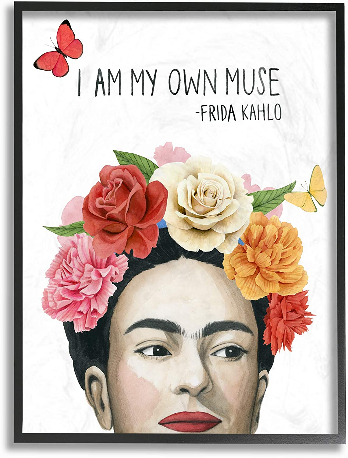 Stupell Industries Pink and Coral My Flowers Department cheap store Bl Own Frida's Muse