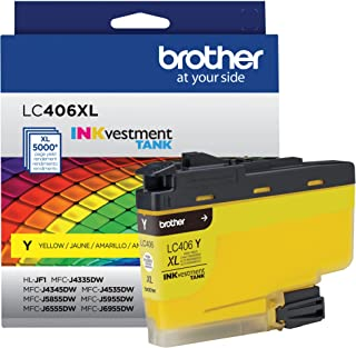 Brother LC406XLYS High Yield Yellow Ink Cartridge