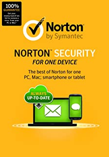 Norton Security for One Device (Old Version) [Online Code]