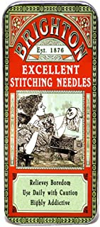 Magnetic Sewing Needle Case Excellent Stitching Needles Faux Vintage