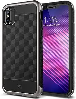 Caseology Parallax for iPhone Xs Case (2018) / iPhone X Case (2017) - Award Winning Design - Black