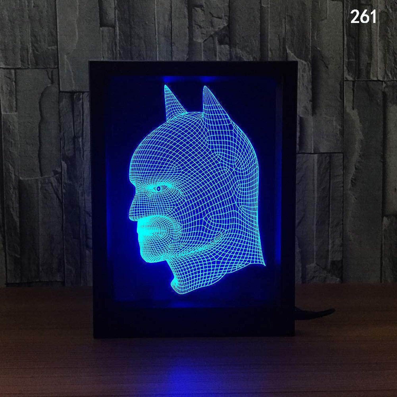 GXYBuntes Licht des Nachtlichtes 3d des kreativen Fotorahmens Fotorahmens Fotorahmens 77d kundenspezifisches Licht des Nachtlichts B07P999J13 | Umweltfreundlich  fed876