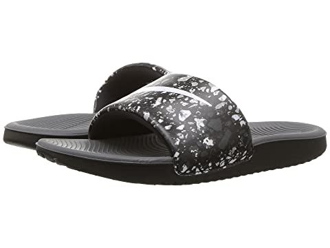8450cc25adbb Nike Kids Kawa Slide Print (Little Kid Big Kid) at Zappos.com