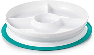 OXO TOT Suction Divided Plate, Teal
