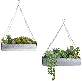 Best wall hanging outdoor planters Reviews