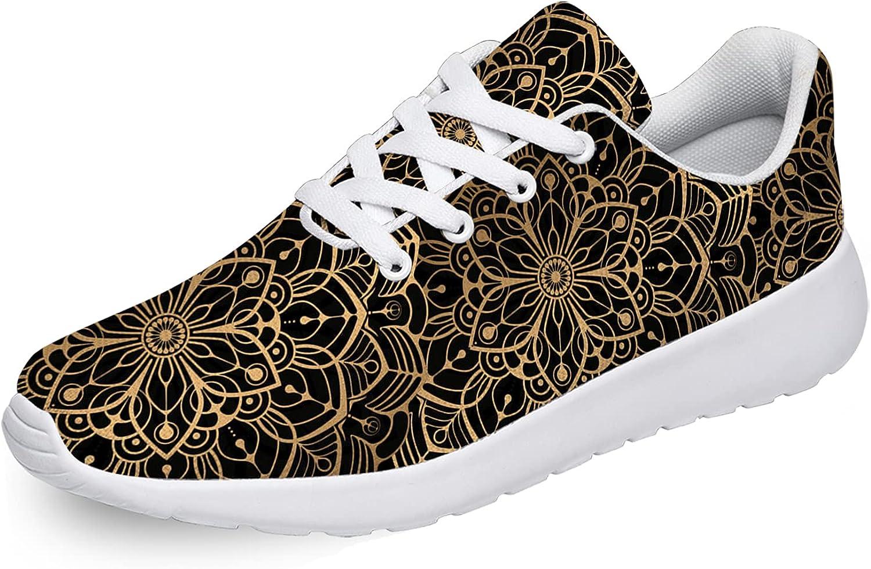 Ciadoon Mandala Shoes Womens Mens Walking Al sold out. Running Tennis Tampa Mall S