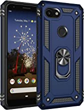Google Pixel 3A XL Case, Extreme Protection Military Armor Dual Layer Protective Cover with 360 Degree Unbreakable Swivel Ring Kickstand for Google Pixel 3A XL 6.0