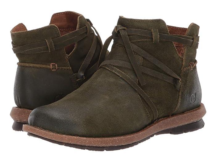 Born  Tarkiln (Green Distressed) Womens  Boots