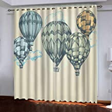 140x160cm ZLQBed Blackout Curtains Basketball Bedroom Eyelet Curtains Super Soft Thermal Insulated Room Darkening Curtains for Living Room Nursery Home Decoration 2 Panels