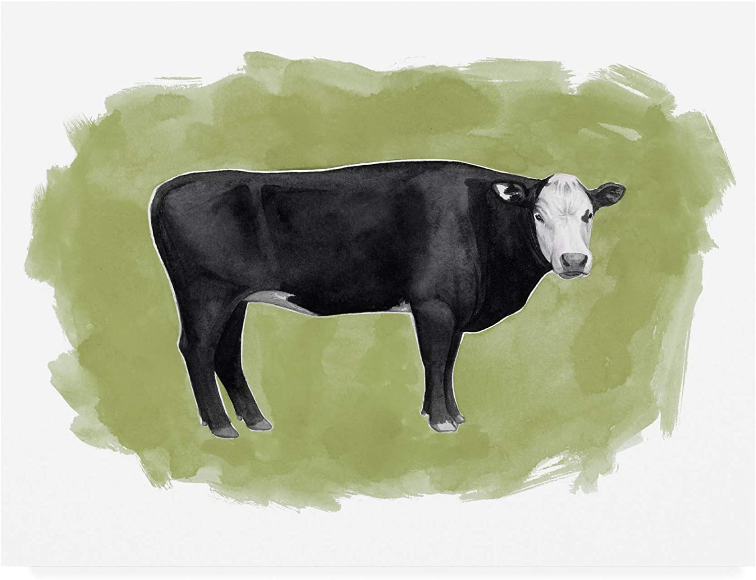 Trademark Fine Max 60% OFF Art WAG15630-C1824GG Hereford I Grace Free shipping on posting reviews Graze Po by