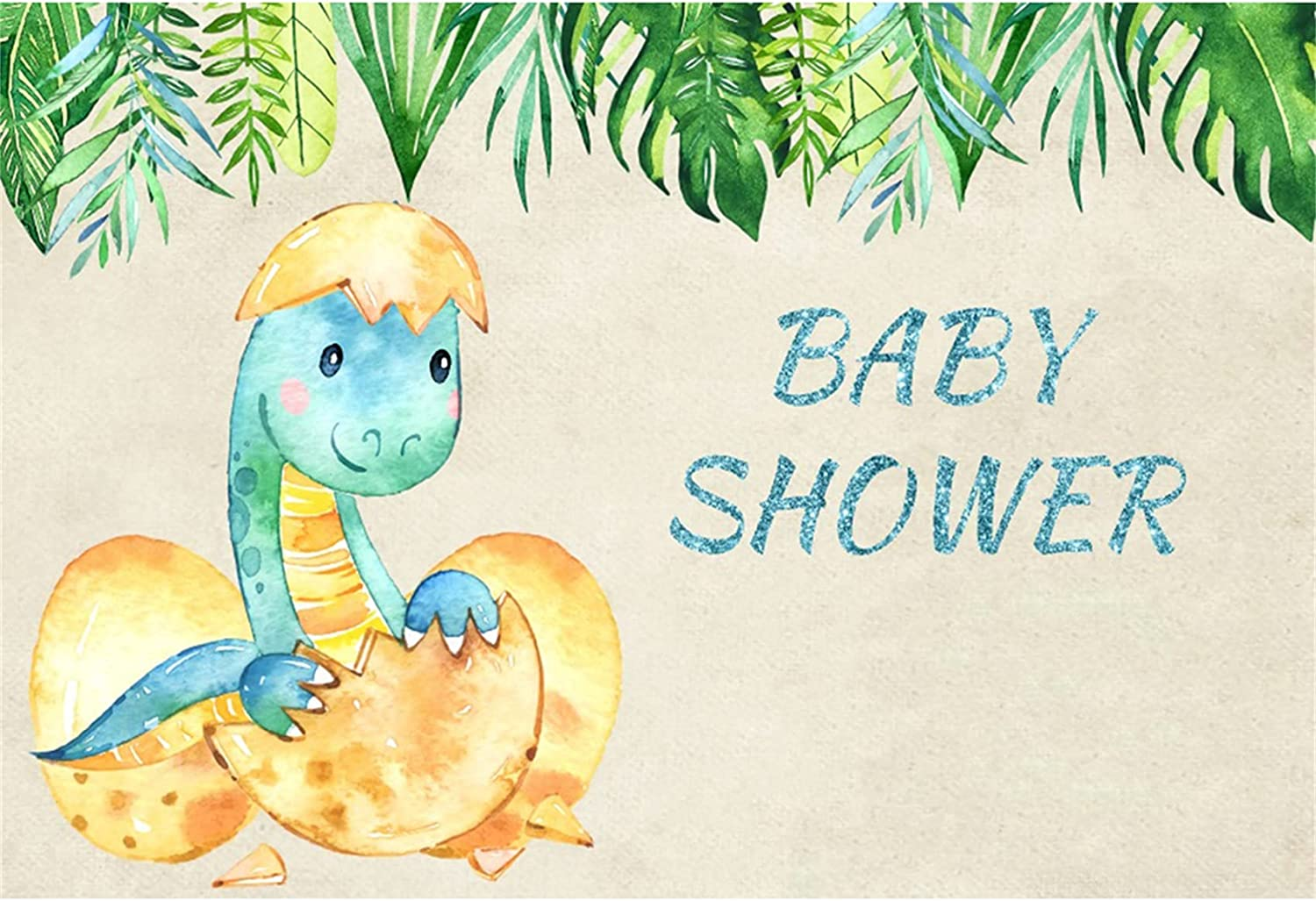 Haoyiyi 5x3ft Baby Shower Backdrop Dinosaur Cartoon Summe Max Manufacturer direct delivery 89% OFF Animal