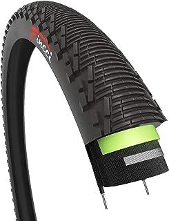 comprar comparacion Fincci 26 x 1,95 Pulgadas 53-559 Cubierta con 2.5mm Anti Pinchazo 60TPI para MTB Montaña Ciclo Carretera Hibrida Bici Bici...