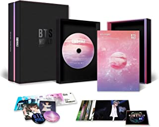 BTS WORLD OST Album - CD + Photobook + Photocard + Game Coupon + Lenticular + OFFICIAL POSTER + FREE GIFT