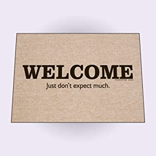 High Cotton Inc. Welcome Just Don't Expect Much Doormat
