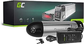 GC® Batería E-Bike 36V 11.6Ah Bicicleta Eléctrica Bottle Li-Ion con Celdas Panasonic y Cargador Greyp Bikes Pfiff Canyon Flash