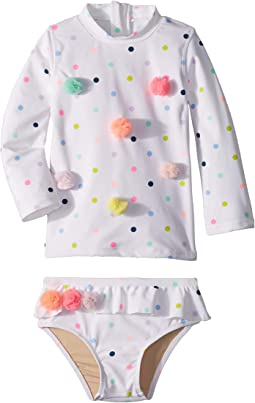 Multi Dot Rashguard Set (Infant/Toddler)