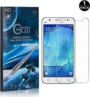 Galaxy J5 2016 Screen Protector Tempered Glass, Bear Village® Perfect Fit & Anti Fingerprint HD Screen Protector Film for Samsung Galaxy J5 2016-1 Pack