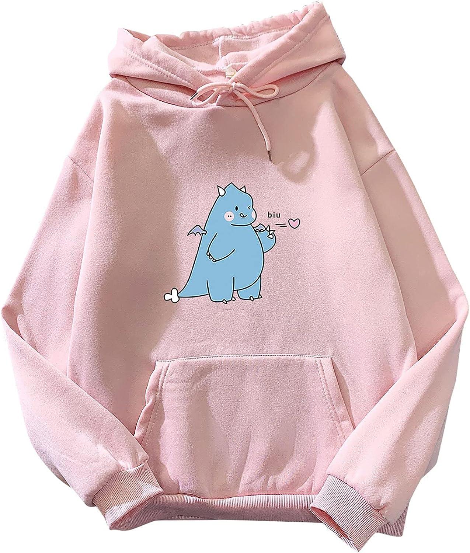 Hoodies for Women Pullover Women's Pull Cute Dinosaur Girls Teen Very Super-cheap popular