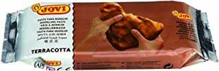 JOVI Pâte Modeler Autodurcissante à l'air Terracotta Pain art.88 - 500g - Marron