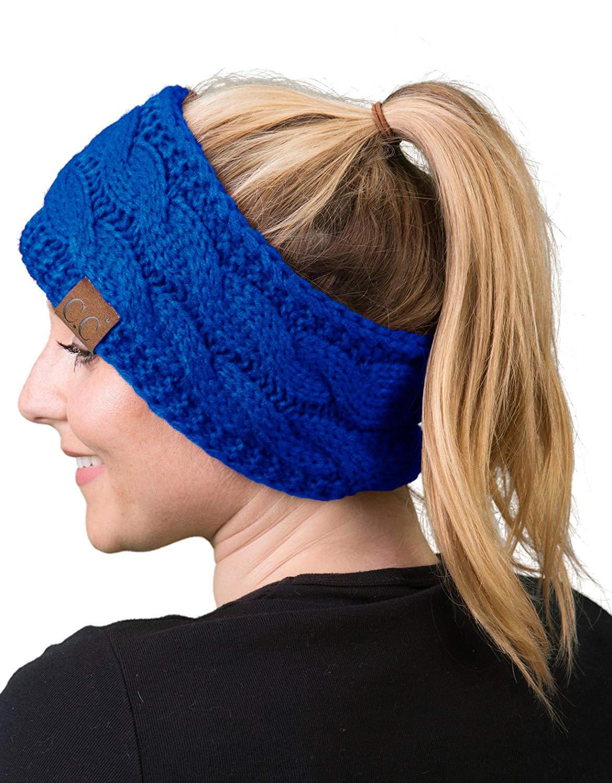 Solid Headwrap - Royal Blue