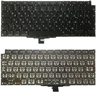 WANGZHEXIA Tastiera di Ricambio RU Versione Tastiera per Macbook Air Retina 13.3 M1 A2337 2020 EMC 3598 MGN63 MGN73