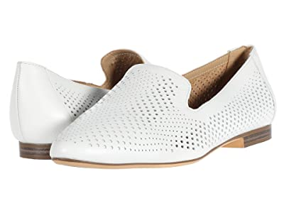 Naturalizer Lorna (White Pebbled Leather) Women