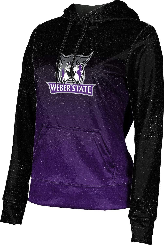Weber State University Girls' Pullover Hoodie, School Spirit Sweatshirt (Ombre)