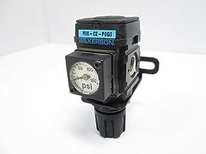 "Wilkerson R08-C2-F0G0 Pneumatic Regulator, 300 PSI, 0-125 PSI Range, 1/4"" NPT"