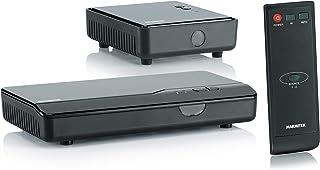Marmitek GigaView 821   HDMI Extender   HDMI drahtlos   Full HD   1080P   3D   Single floor   durchschleifen   Infrarot Rückkanal   Ersetzen Sie drahtlos Ihr HDMI Kabel, Schwarz