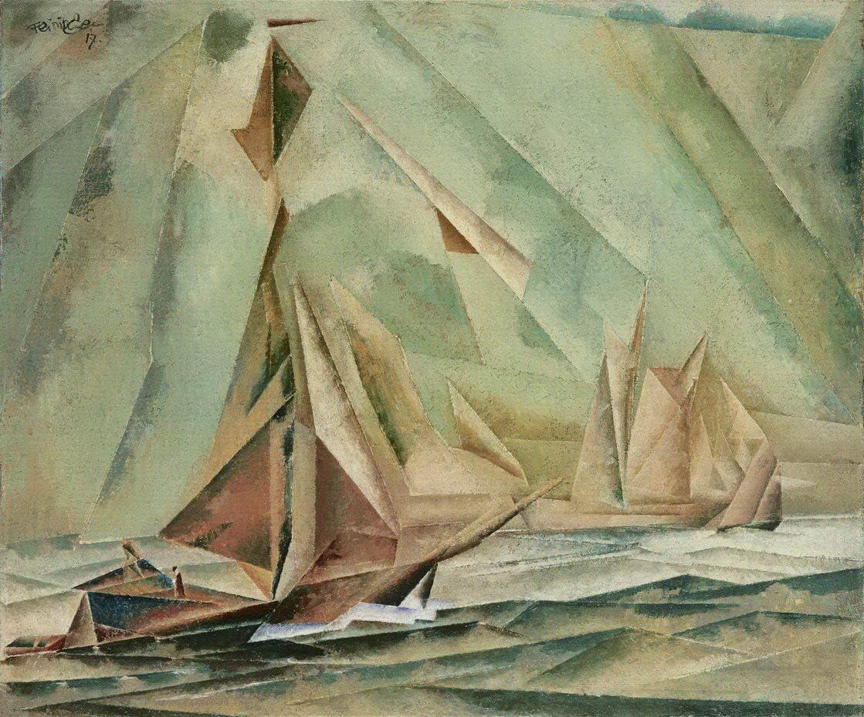Berkin Arts 販売実績No.1 Lyonel Feininger 激安セール Giclee Paint Print On Canvas-Famous