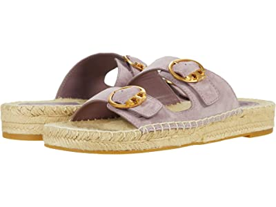 Tory Burch Selby Two-Band Espadrille Slide (Cipria) Women