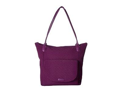Vera Bradley Carson North/South Tote (Gloxinia Purple) Tote Handbags