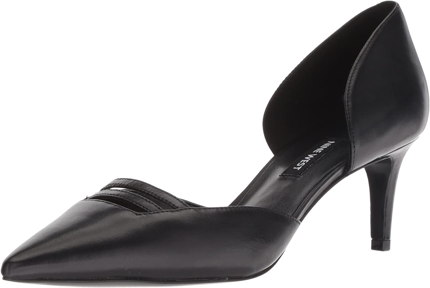 Nine West Womens Suitup Leather Pump