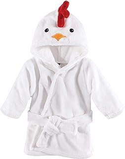 Hudson Baby Unisex Baby Plush Animal Face Robe, Chicken,...