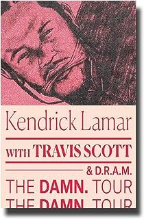 Kendrick Lamar Poster Concert Pomo 11 x 17 inches Damn. Tour