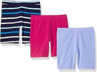 Amazon Essentials Girls' 3-Pack Cart-Wheel Short